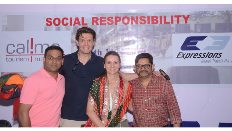 Accion Solidaria Calima 2019 en India